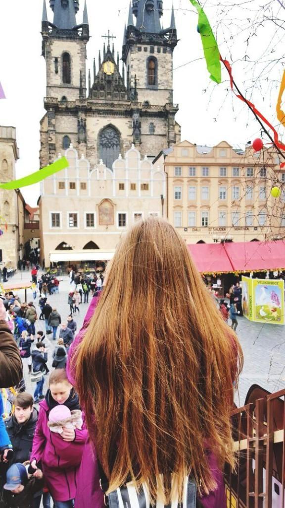 Ostern-Prag- Ostern in Prag- Touristen