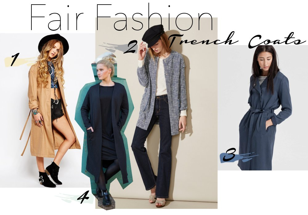 Trenchcoat-fair fashion- slow fashion- bio-organic-vanillaholica
