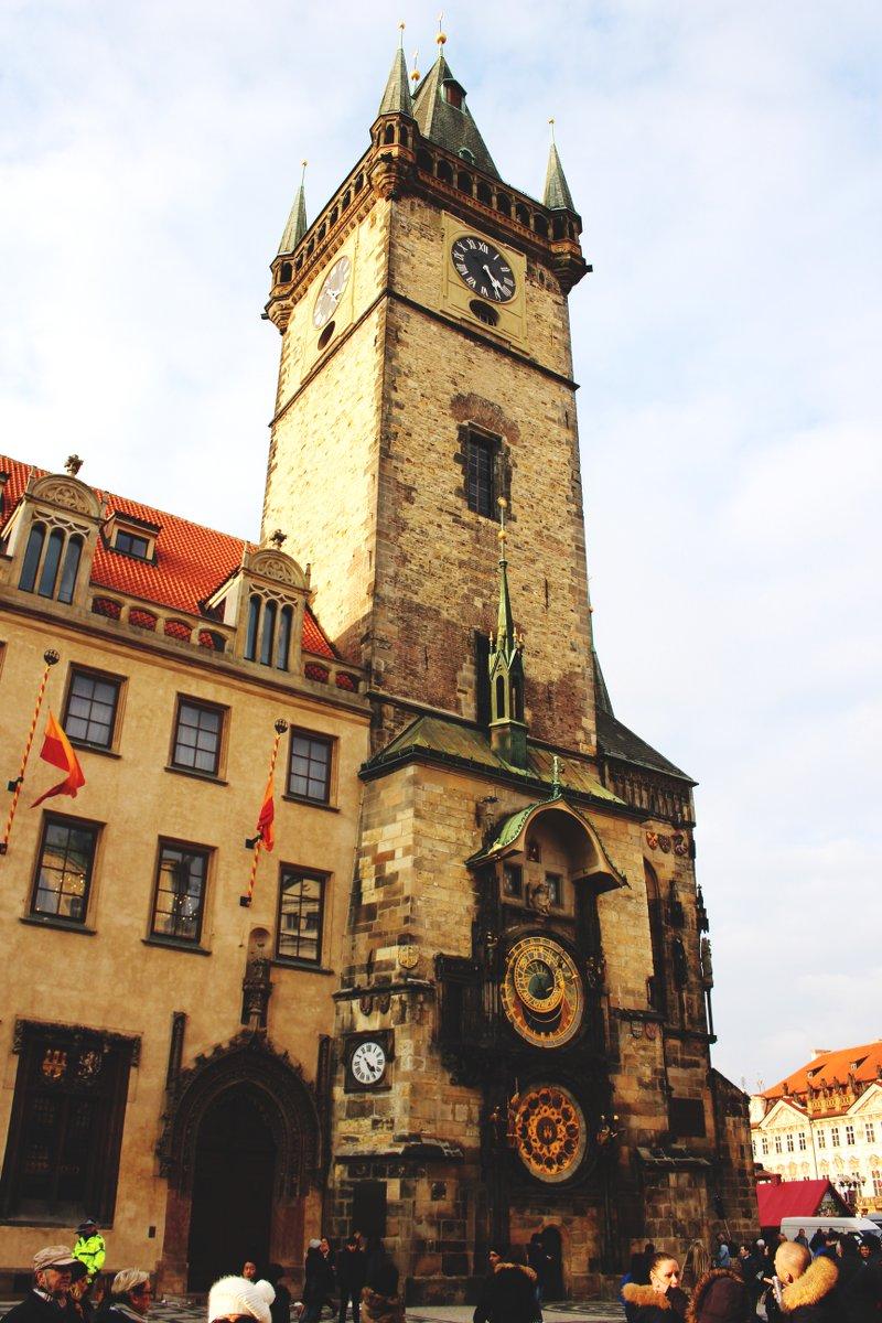 Rathausturm-Rathaus-Prag-Tschechien