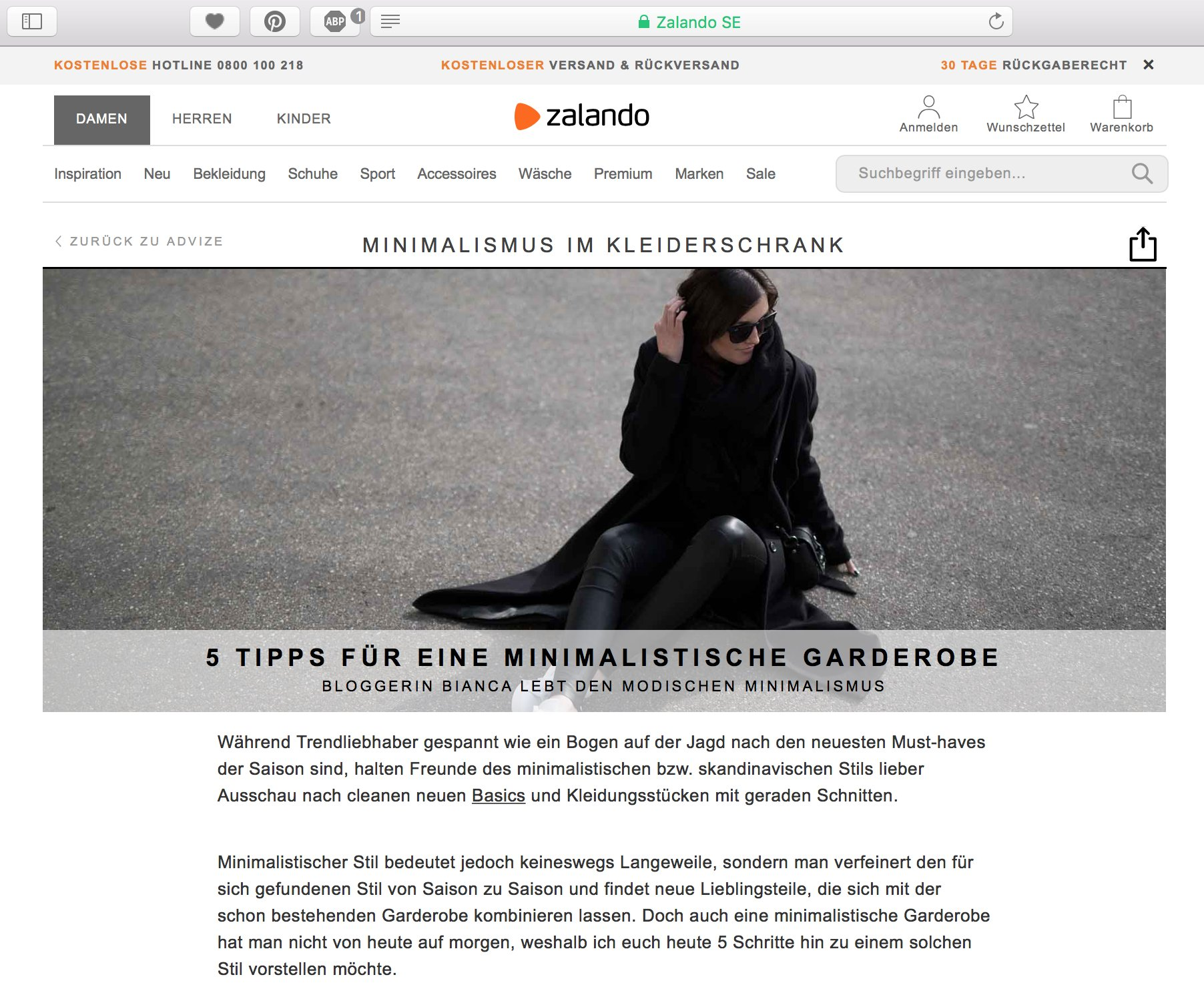 minimalistische Garderobe-lifestyleblog-ADVIZE-Zalando