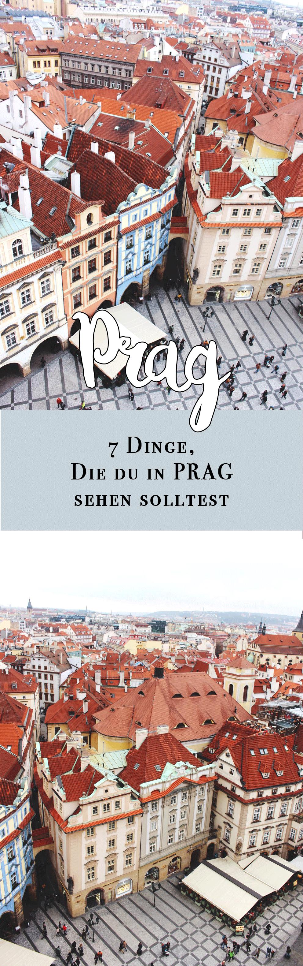 prag-sehenswürdigkeiten in präg-dinge die du in Prag sehen solltest