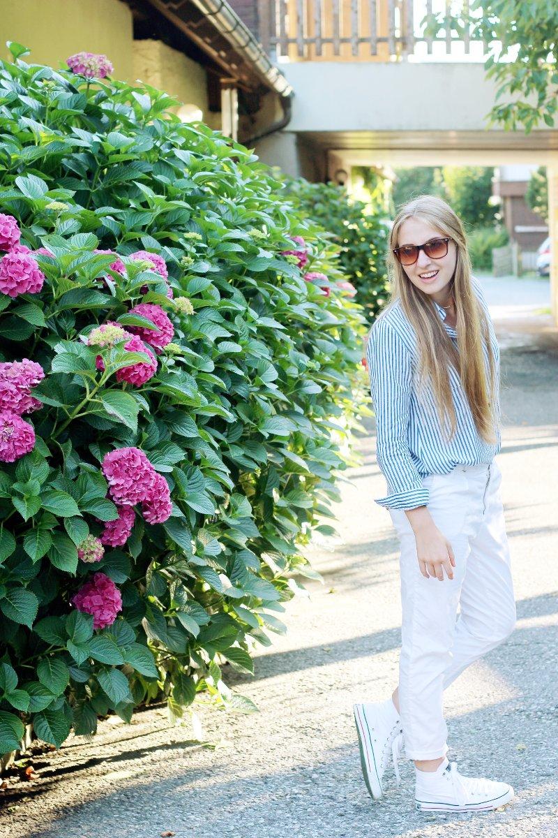 Dogdays of Summer-Fair Fashion Sommerbluse-Fair Fashion Bluse-Vintage-Second Hand