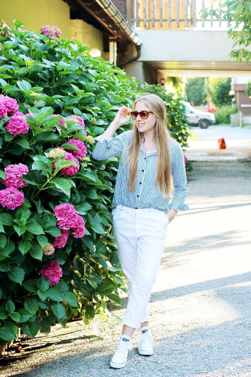 Dogdays of Summer-Vintage-Fair Fashion Sommerbluse-Fair Fashion Bluse-Secondhand
