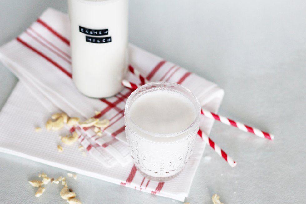 pflanzliche Milch selbst gemacht- nussmilch selber machen-zero waste-vegan