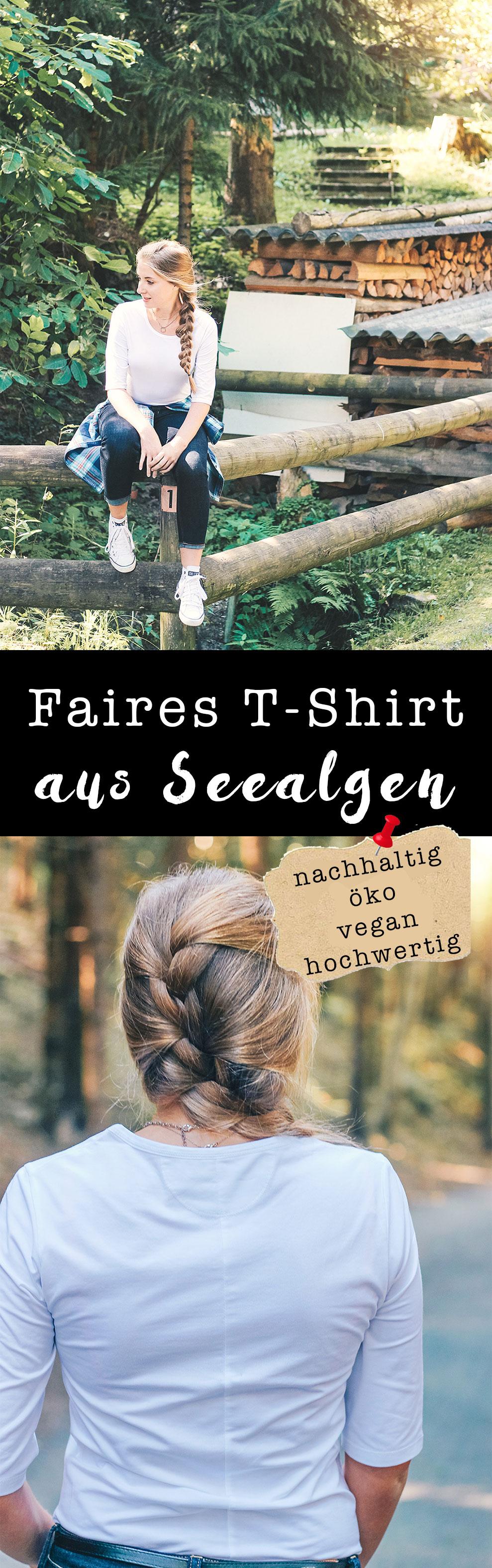 Faires-T-Shirt, Funktionsschnitt, Biomode, Fair Fashion