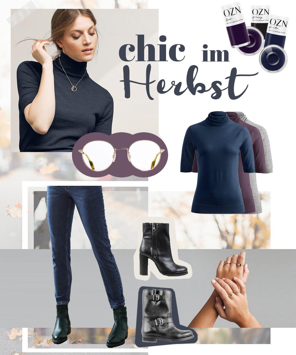 Outfit Inspiration Fair Und Nachhaltig Produzierte Herbstmode