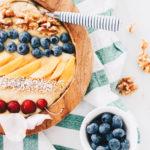 Sunshine Smoothie Bowl / Veganes Frühstücksrezept