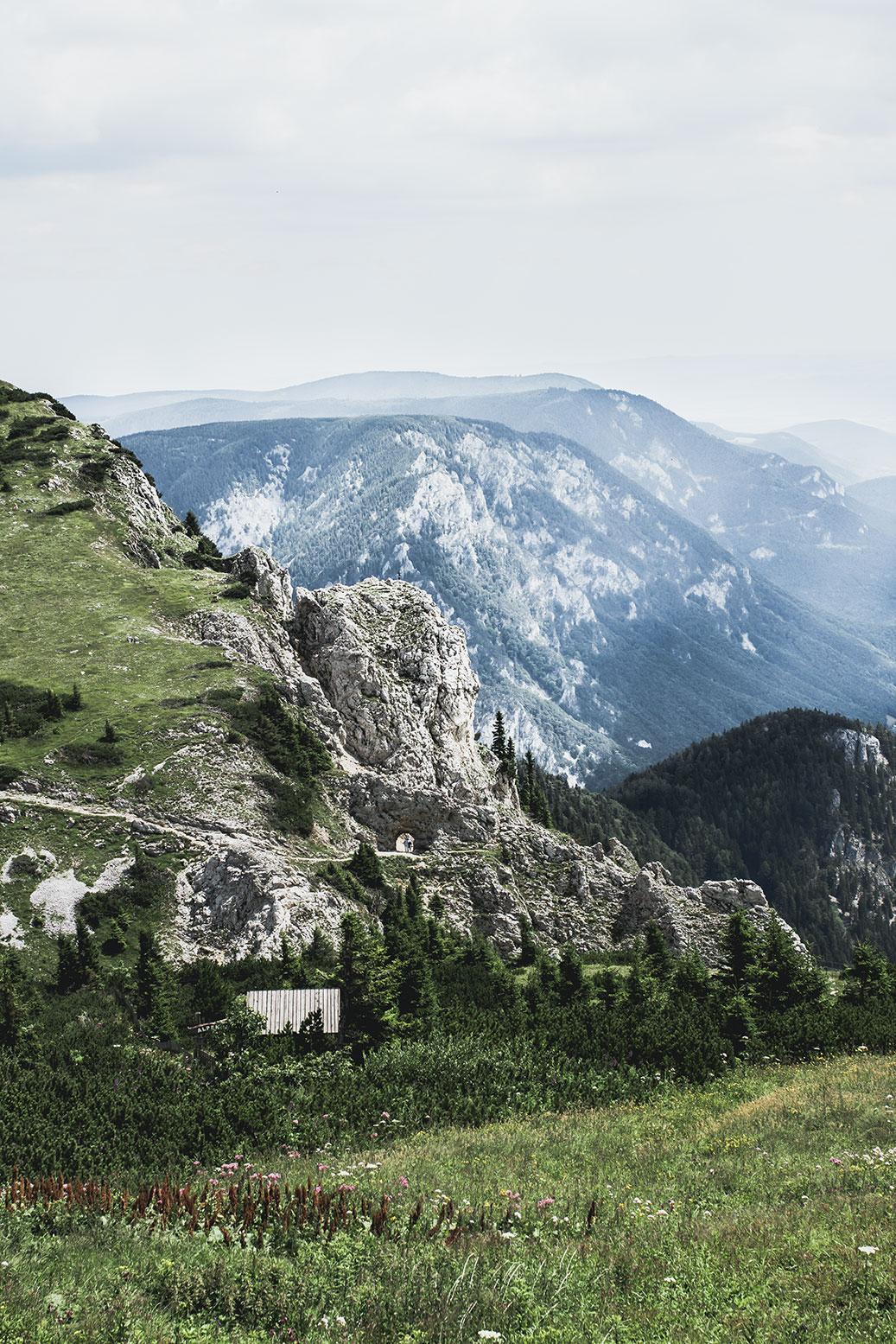 Rax Schneeberg wandern in Österreich
