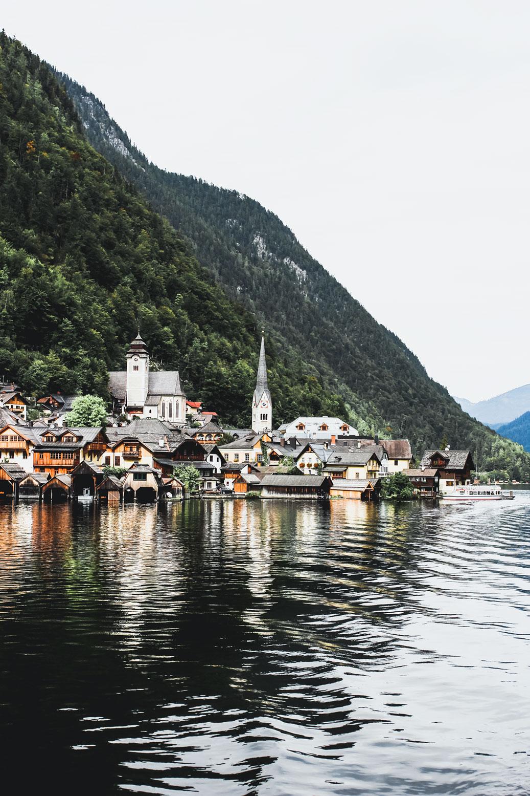 Hallstatt Hallstättersee Dachstein Salzburgerland
